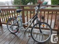 Trusty aged Schwinn with Electric Aid. Perfect for