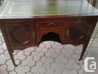 This gorgeous Antique Desk/Cabinet would adorn any home