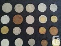 Assorted coins I've aquired over the years, there are 2