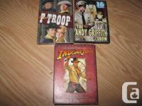 Assorted Dvds - sets $10 each OR 2 for $15 OR all 3 for