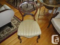 "arm chair $25 China cabinet (Gibbard) 56""wide, 20""deep"