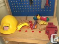 These toys were used by preschoolers in a daycare. They