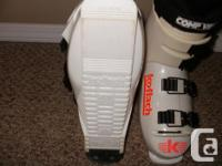 I have two pair of down hill skies with bindings, one