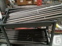 Selling Assorted Bulk Threaded Rods.  These are metal