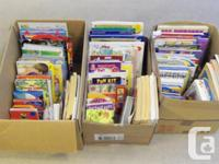 Selling an assortment of over 40 books per box. We have