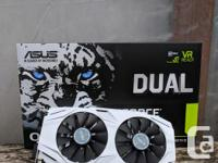 ASUS GeForce GTX 1060 3GB Dual-Fan OC Edition Graphics
