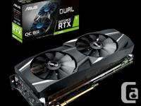 ASUS Dual GeForce® RTX 2080 OC edition 8GB GDDR6 with