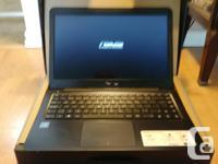 "Asus-E402S laptop 14"" Windows 10 Home 64bit Intel"