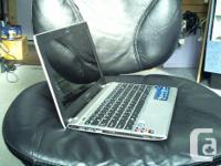 Asus laptop AMD 1.65GHz dualcore 4 GB RAM 320GB hard
