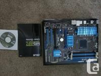 Great motherboard for gaming or overclocking. Is in
