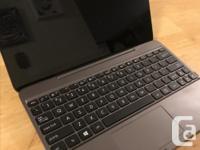 Nice lightweight little notebook, good shape. Intel