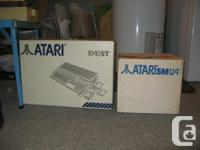 Atari 1040STf SM124 Monochrome Monitor Mouse Printer
