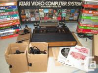 ATARI 2600 Console w / Original Box & Packing material,