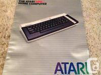 The Atari 600XL residence computer system. Job began on
