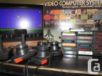 """ATARI """"Light Sixer"""" 2600 Console w/ Original Box, 28"""