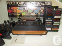 "ATARI ""Light Sixer"" 2600 Console w / Original Box, 28"
