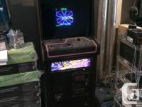 This is a genuine original vintage arcade game,