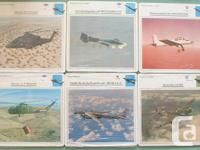 Atlas editions armed forces aircraft cards; consists of