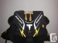 Bauer Blocker, Glove, Chest Protector, Pants, size 4