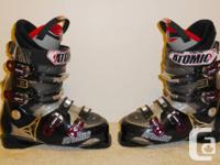 Hi, I am selling ski boots of my girlfriend.  Ski boots