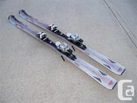 One pair of Atomic Nomad Whiteout all-mountain skis for