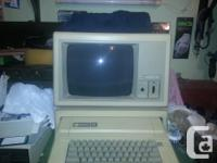 For Sale Vintage 1983 Apple 2E Computer system.