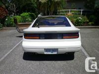 Make Nissan Model 300ZX Year 1990 Colour Pearl white