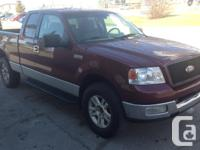Make Ford Model F-150 Year 2004 Colour Red kms 340