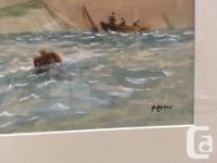 "Aubrey Ramus (1895-1950) Late 19th Century ""Sailing"""