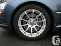 "4 Audi wheels: 18"" x 9.5"" bolt pattern 5 x 112 offset"