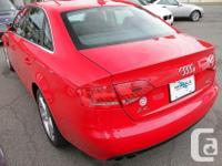 Make Audi Model A4 Year 2011 Colour Red Trans