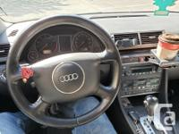 AUDI A4 2004(BLUE) Power options: Steering wheel