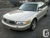 show contact info  Only 122,000 miles 1998 Audi A8