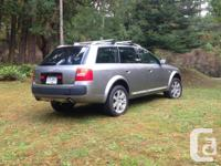Make Audi Model Allroad Year 2004 Colour Silver kms