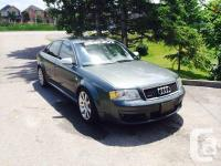 Make. Audi. Design. RS6. Year. 2003. Colour. Grey.