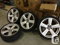 Hi,  I am looking to trade or sell my 19 inch S-line's.