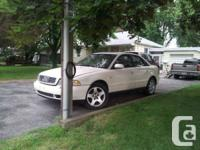 decreased $850 obo.  For sale AS-IS, is a 1998 A4 Audi