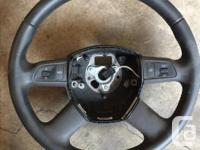 Audi Steering Wheel with Audio Controls - Like New -