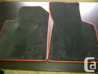 Incredible custom made Audi TT mats. These are first