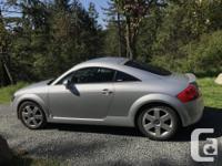 Make Audi Model TT Year 2000 Colour Silver kms 76000