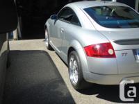 Make Audi Model TT Year 2000 Colour Silver kms 245854