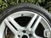 This is a set of four Nokian Hakkapeliitta R 235/45Rx17