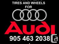AUDI AND VOLKSWAGEN ALLOY WHEELS. WINTER RIMS AND TIRE