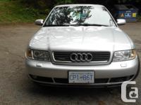 Make Audi Model A4 Year 2001 Colour silver kms 200000