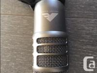 This is a fun mic, it sells for $769 new and combines
