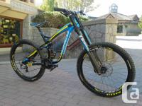 Unwell Downhill Bike!  2013 version but acquired brand