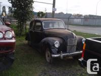 austin A 40 devon 4 door  for parts or compleate car