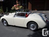 Make Austin-Healey Model Sprite Year 1959 Colour Old