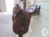 Queensland Outfitters, Cox Poley saddle. 15 inch seat,