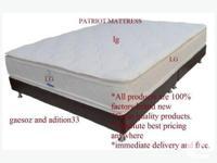 we super super deal Euro top mattress brand new for
